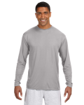 SILVER Long-Sleeve Cooling Performance Crew