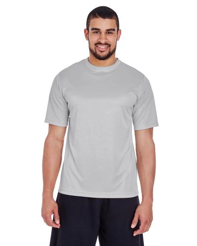5a6a423c Team 365 Men's Zone Performance T-Shirt - Custom T-Shirts SPORT SILVER