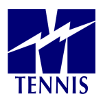Tennis Window Decal