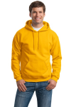 Gold Gildan Heavy Blend Hooded Sweatshirt