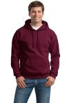 Maroon Gildan Heavy Blend Hooded Sweatshirt