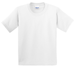 Customize a White - Youth Gildan 100% UltraCotton T-Shirt