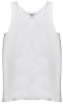 Customize a White - - Mens UltraCotton Tank Top