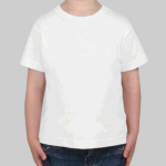 Customize a White - - 100% Cotton Toddler T-Shirt