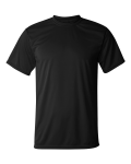 Black Color Dri fit T-Shirt (Heat Transfer)