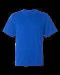 Augusta Sportswear Performance 2-Button Henley
