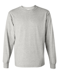 Ash Heavy Cotton Long Sleeve T-Shirt