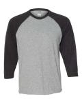 Fine Jersey 3/4 Sleeve Baseball T-Shirt