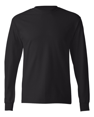 33c0b59f603183 Custom printed Hanes Adult Tagless Long Sleeve T-shirts in ...