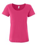 Ladies' Sheer Scoopneck T-Shirt