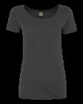 Earth Coal Ladies' Organic Scoopneck T-Shirt