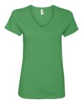Missy Fit Ringspun V-Neck T-Shirt