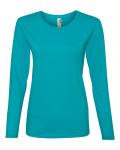 Missy Fit Ringspun Long Sleeve T-Shirt