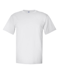White 100% Polyester T-Shirt