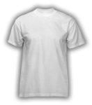 White Men's Short Sleeve Running