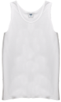 White Men's Running Singlet