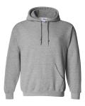 Sport Grey Hooded Unisex Sweatshirt