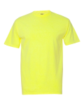 Neon Yellow Adult Ringspun Tee