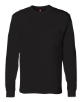 Tagless Long Sleeve Pocket Tee