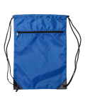 Nylon Zippered Drawstring Backpack