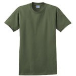 Military Green Gildan Ultra Cotton T-Shirt