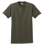 Olive Gildan Ultra Cotton T-Shirt