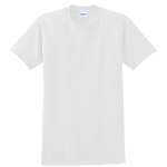 White Gildan Ultra Cotton T-Shirt