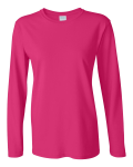 Heliconia Ultra Cotton Ladies' Long Sleeve Tee