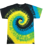 Tropical Breeze Tie Dye Multicolor Tee
