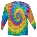 Saturn Long Sleeve Spider Tie Dye Tee