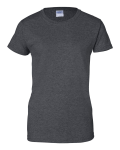 Dark Heather Silkscreen Only - Ladies' Ultra Cotton T-Shirt