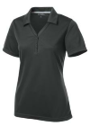 Iron Grey Ladies PosiCharge Micro-Mesh Polo