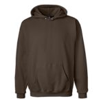 Dark Chocolate Hanes 10oz Hoody