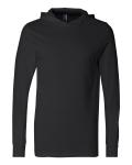 Black Unisex Driftwood Long Sleeve Hooded T-Shirt
