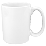 White CERAMIC PHOTO COFFEE MUG