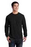 Gildan Ultra Cotton 100% Cotton Long Sleeve T-Shirt with Pocket