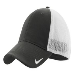 Anthracite Wht Nike Golf Mesh Back Cap
