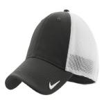 Anthracite Wht Nike Golf Mesh Back Cap