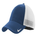Meteor Blue Wht Nike Golf Mesh Back Cap