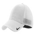 White White Nike Golf Mesh Back Cap