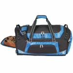 DELUXE POLY DUFFEL BAG W/SHOE STORAGE