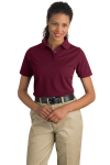 CornerStone Ladies Industrial Pocketless Pique Polo