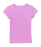 Junior Ladies V-Neck Tee