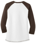 District Juniors 3/4-Sleeve Cotton Raglan Tee