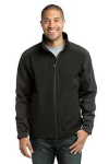 Black Dp Grey Port Authority Gradient Soft Shell Jacket