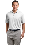 White Port Authority Performance Fine Jacquard Sport Shirt