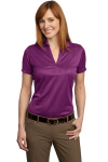Violet Purple Port Authority Ladies Performance Fine Jacquard Sport Shirt