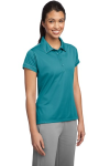 Sport-Tek Ladies Contrast Stitch Micropique Sport-Wick Polo