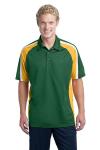 Sport-Tek Tricolor Micropique Sport-Wick Polo