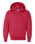Red Youth Hooded Sweatshirt